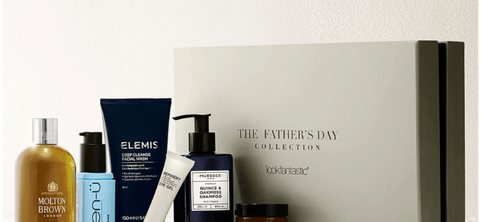 Look Fantastic Father's Day Limited Edition Box Available Now + Full Spoilers!
