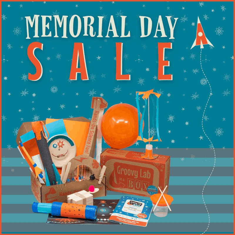 Groovy Lab In A Box Memorial Day Sale: Get 50% Off!