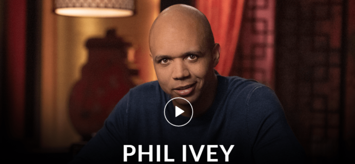 MasterClass Phil Ivey Class Available Now!