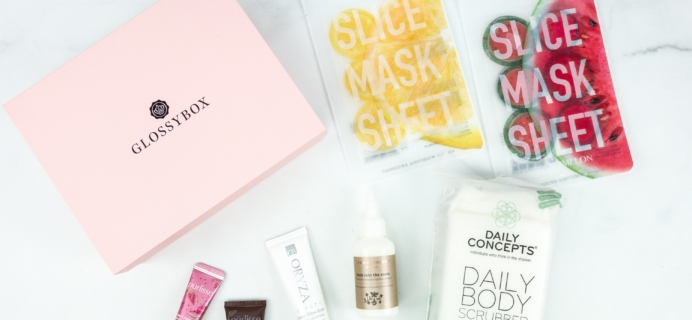 GLOSSYBOX May 2019 Subscription Box Review + Coupon
