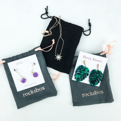 RocksBox April 2019 Review + FREE Month Coupon!