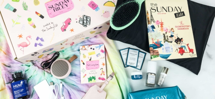 Sunday Riley Box Summer 2019 Review + Coupon – TRAVEL BOX