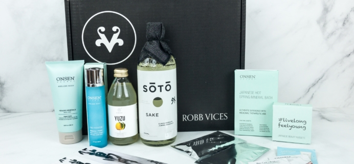 Robb Vices April 2019 Subscription Box Review + Coupon