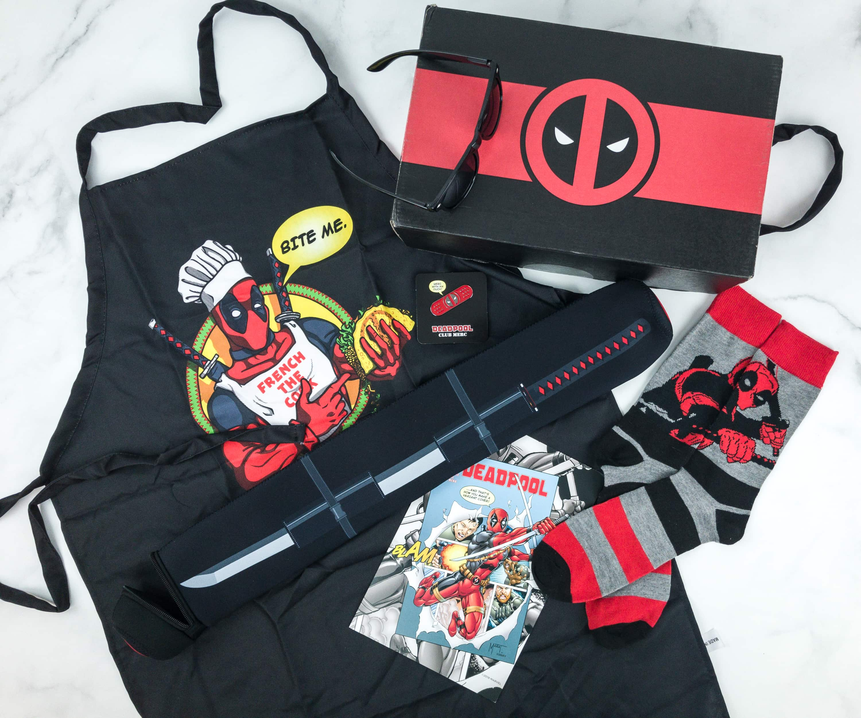 Deadpool Club Merc Spring 2019 Subscription Box Review + Coupon