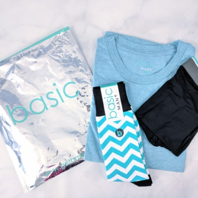Basic MAN Subscription Box May 2019 Review + Buy One Get One FREE Coupon