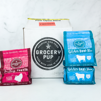 Grocery Pup Fresh Dog Food Review + Coupon