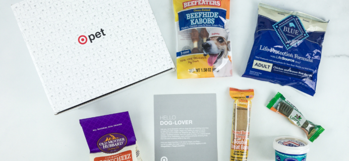 Target Dog Pet Box Subscription Box Review – May 2019