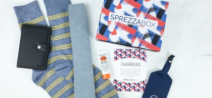 SprezzaBox May 2019 Subscription Box Review + Coupon