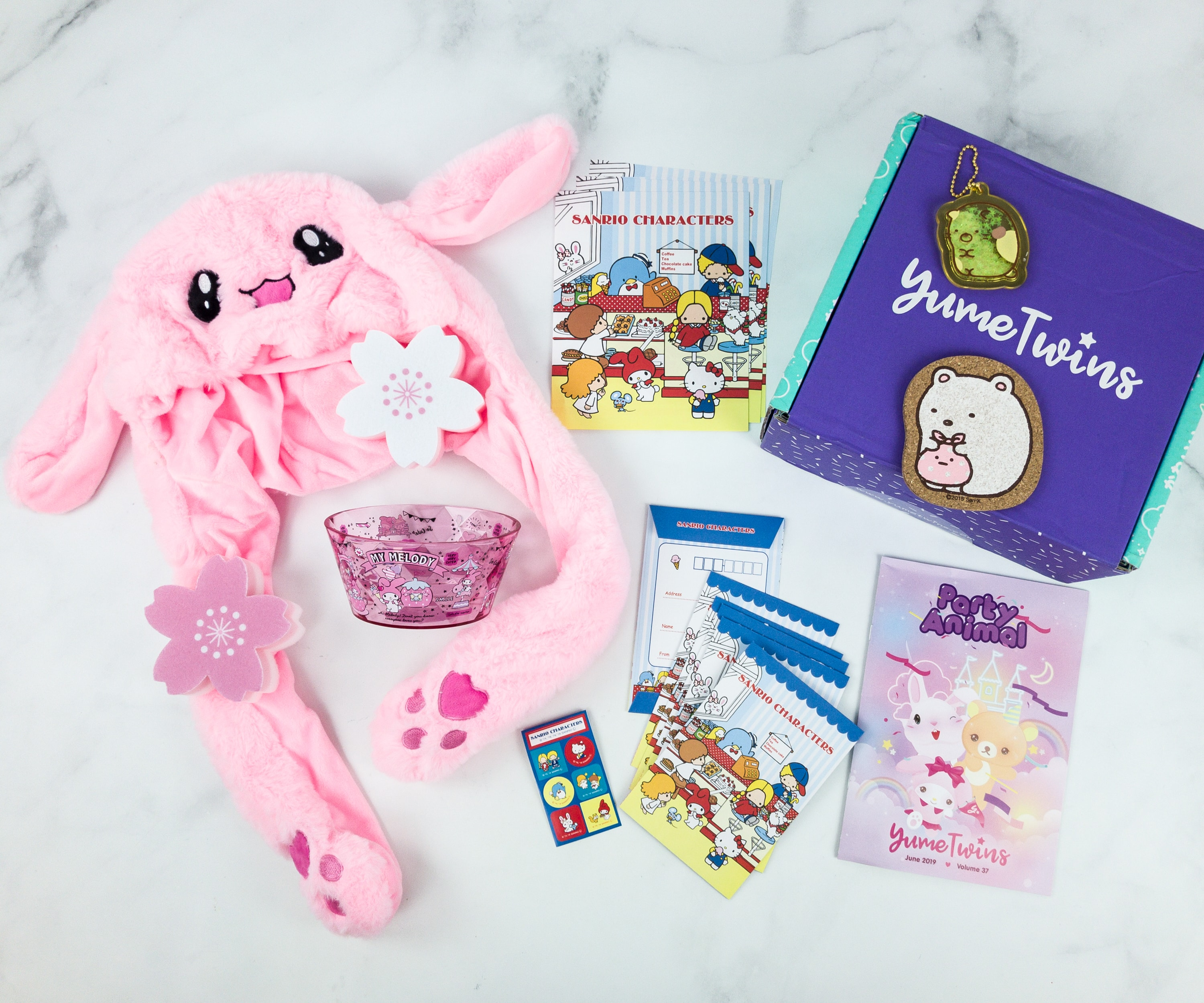 YumeTwins June 2019 Subscription Box Review + Coupon