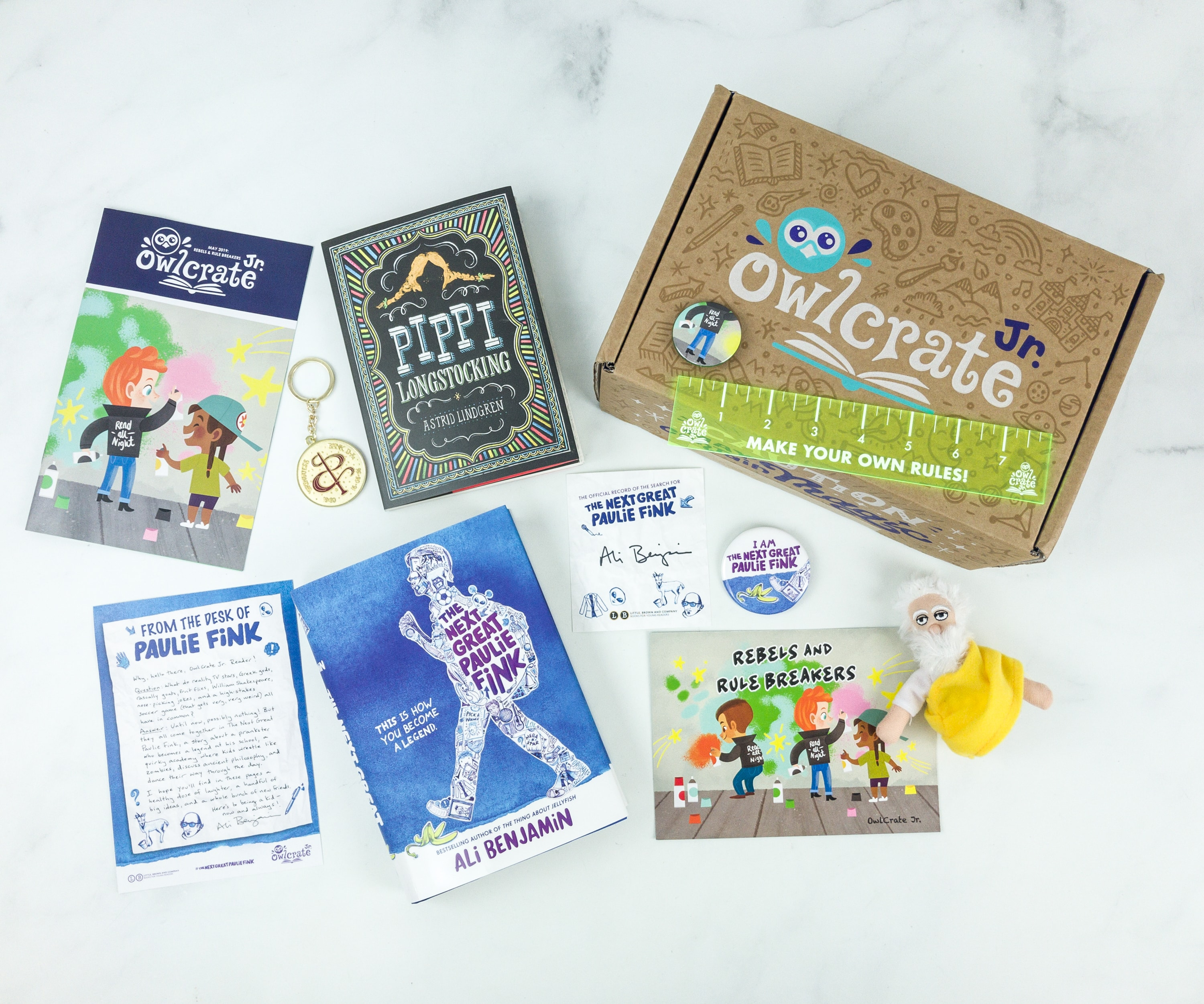 OwlCrate Jr. May 2019 Box Review & Coupon