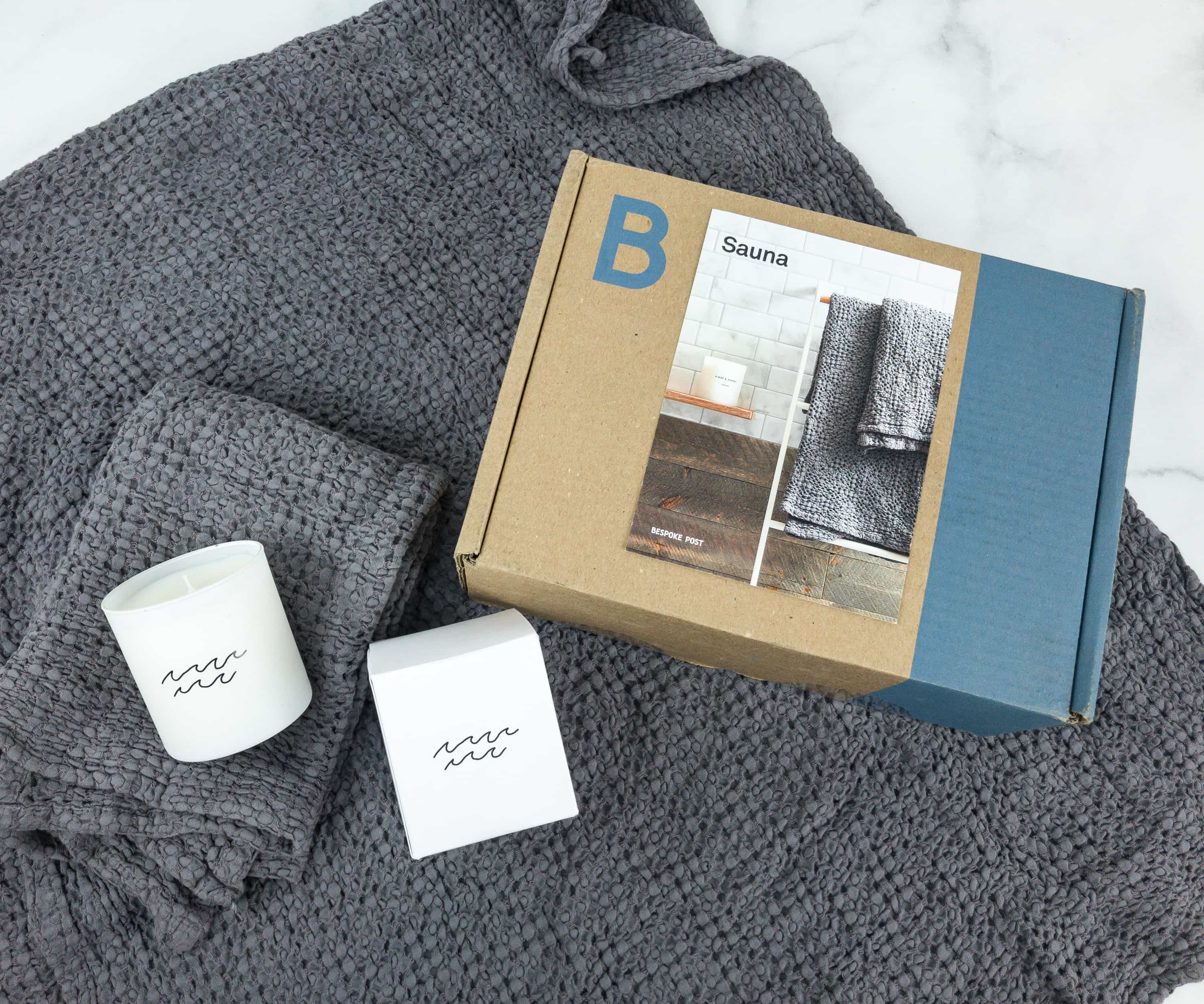 Bespoke Post SAUNA Box Review & Coupon – May 2019