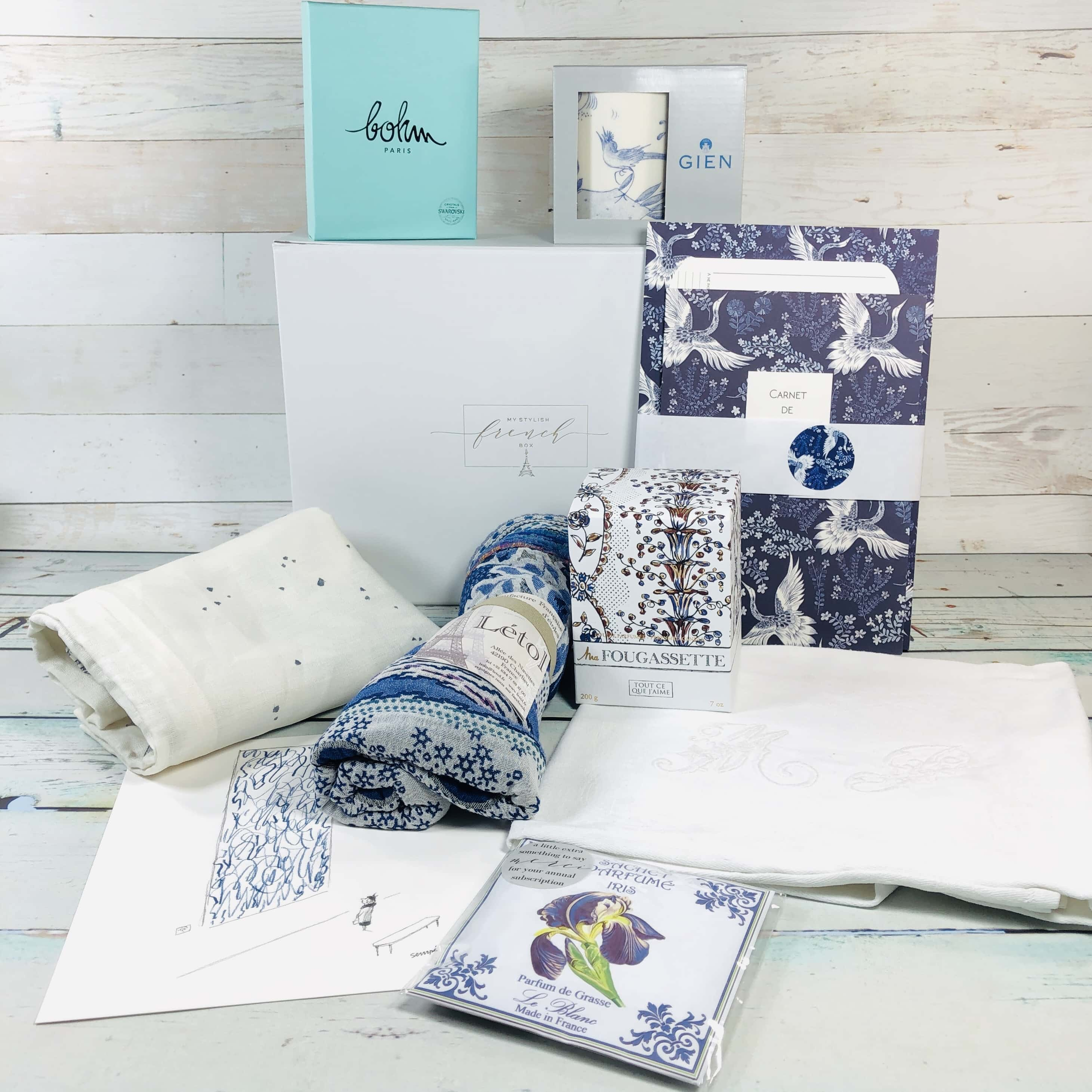 My Stylish French Box May 2019 Subscription Box Review
