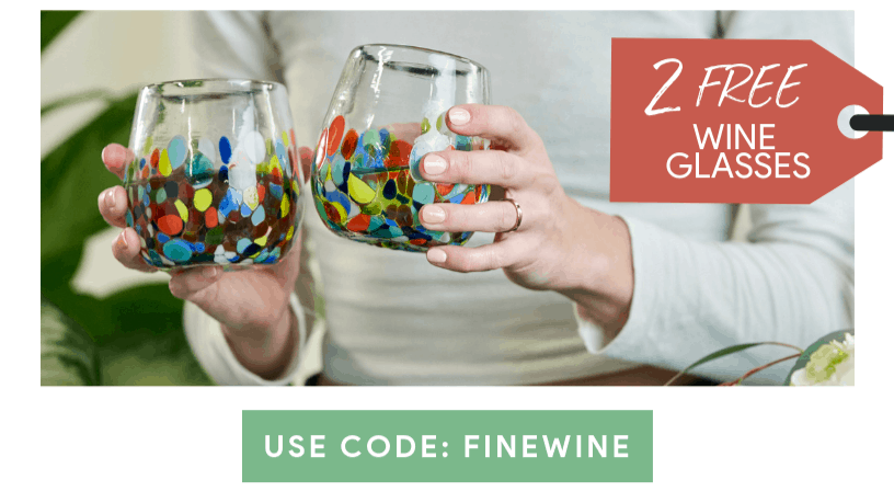 GlobeIn Coupon: Get FREE Wine Glasses!