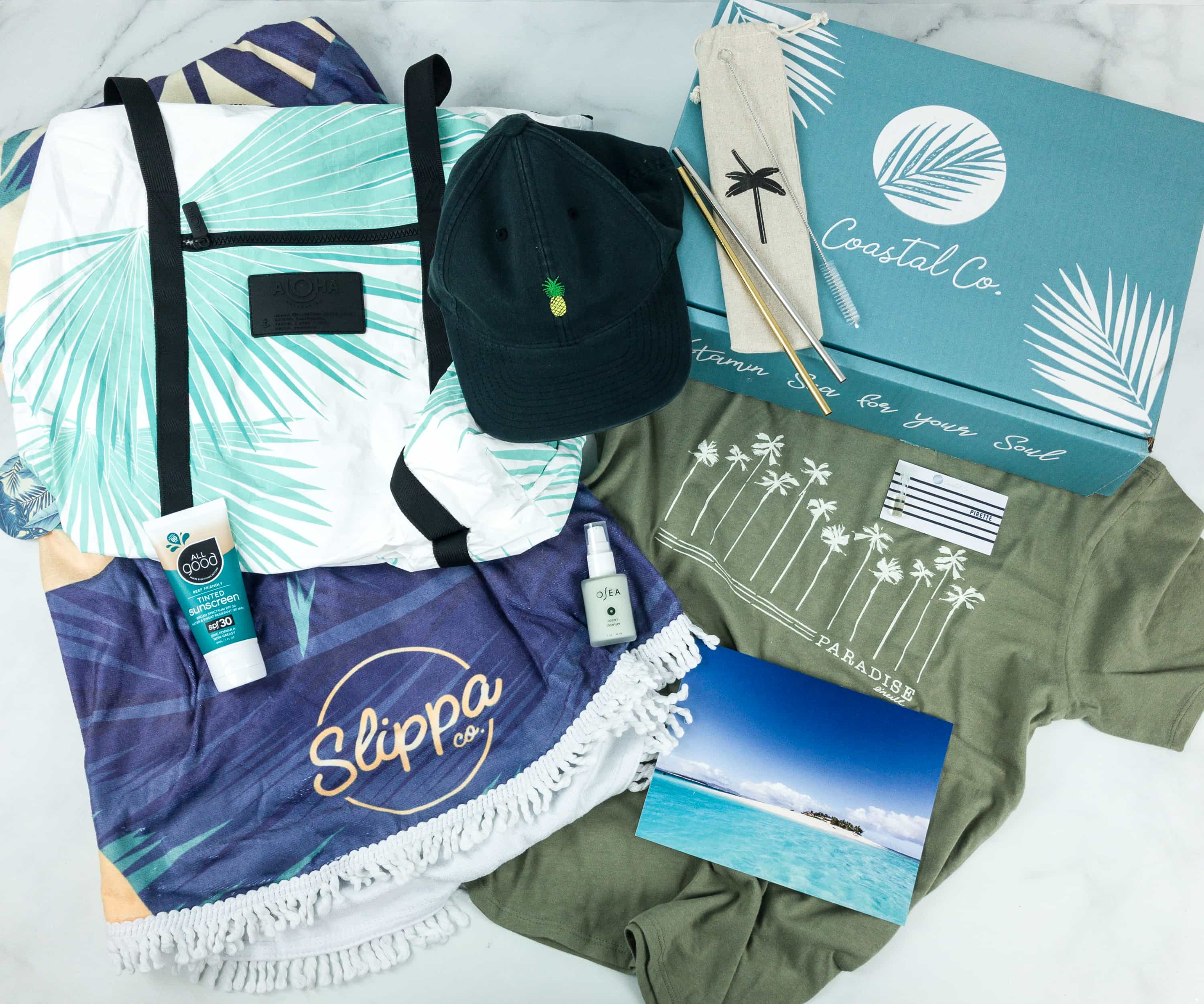 Coastal Co. Women's Box Summer 2019 Subscription Box Review + Coupon