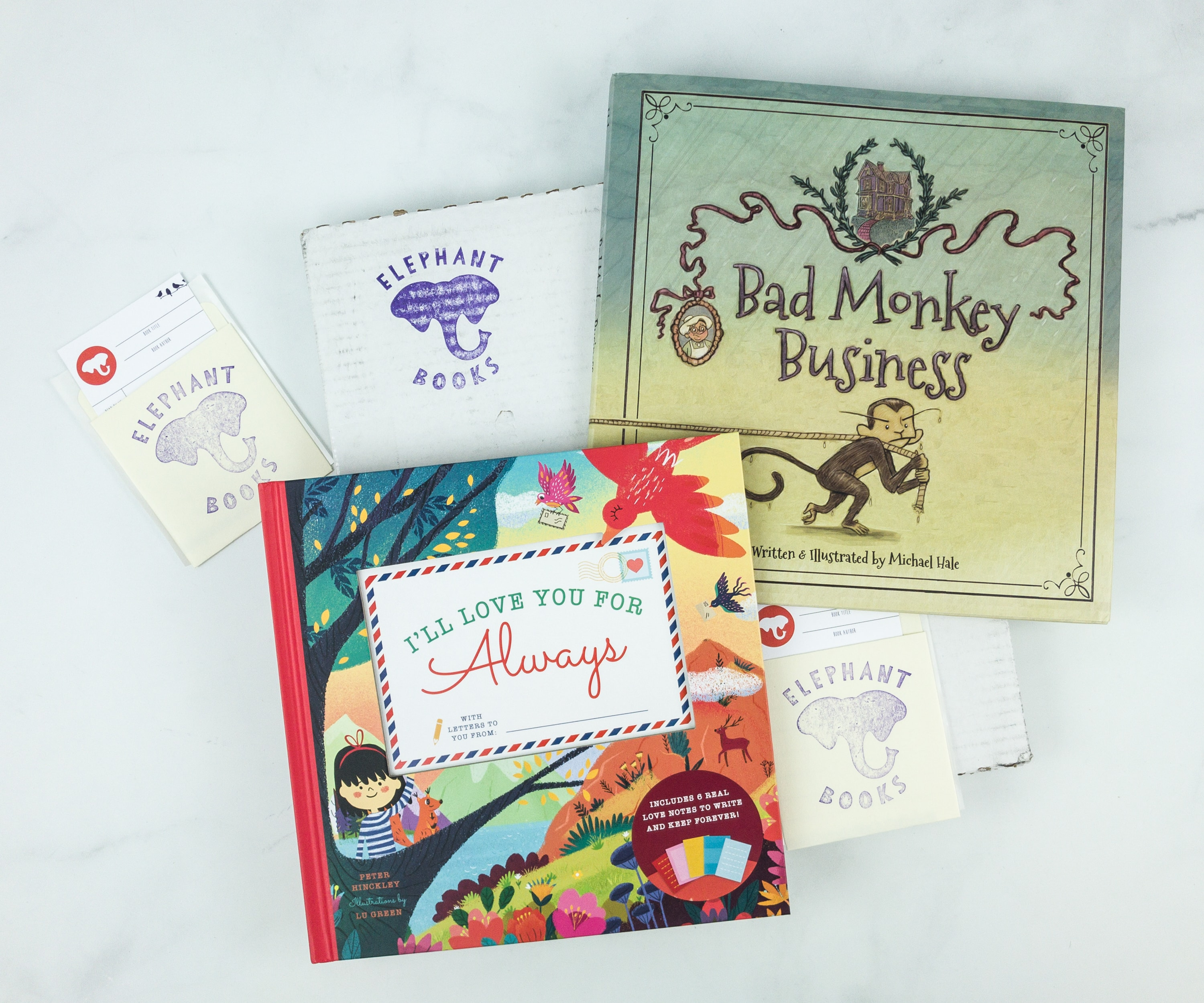 Elephant Books June 2019 Subscription Box Reviews – PICTURE BOOKS
