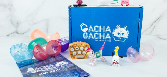 Gacha Gacha Crate May 2019 Subscription Box Review + Coupon