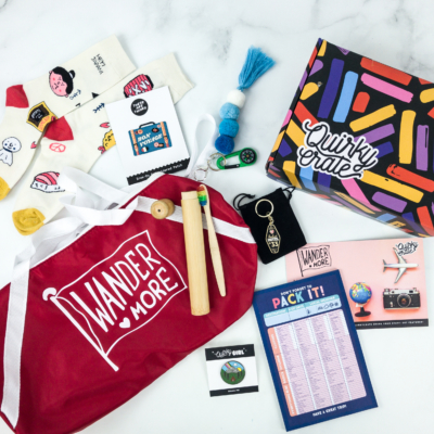 Quirky Crate May 2019 Subscription Box Review + Coupon