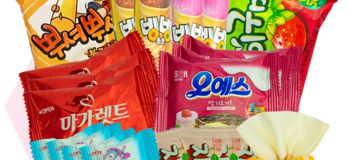 Korean Snack Box June 2019 FULL Spoilers + Coupon!