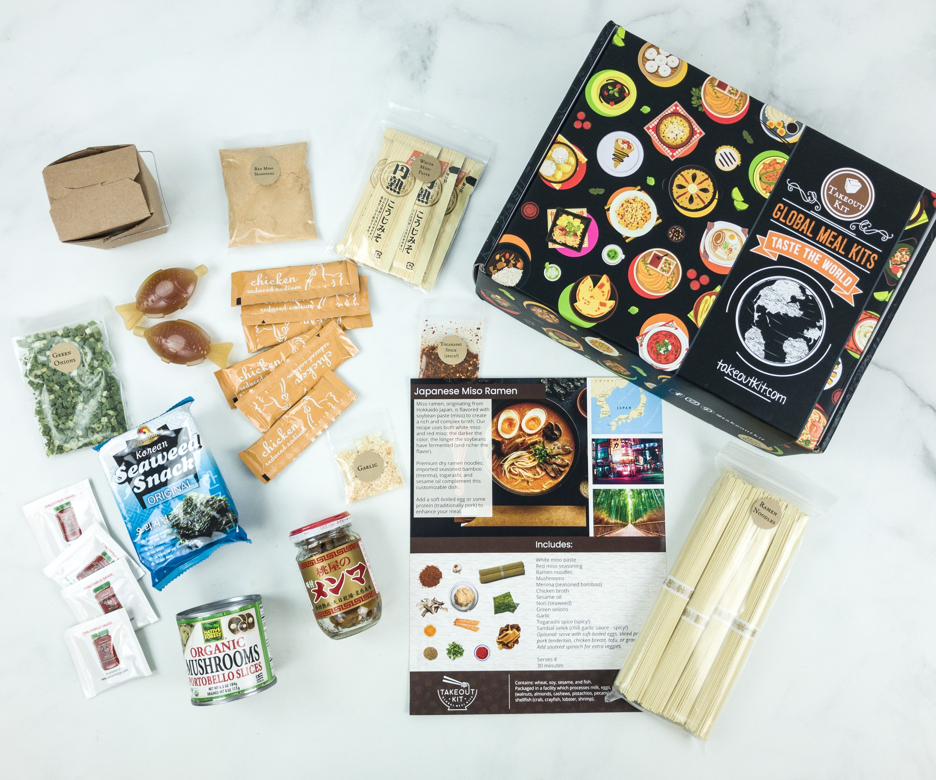Takeout Kit Subscription Box Review – JAPANESE MISO RAMEN