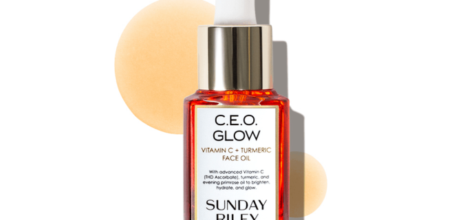 Allure Beauty Box Coupon: FREE Full-Size Sunday Riley C.E.O Glow with Subscription + $5 Off!