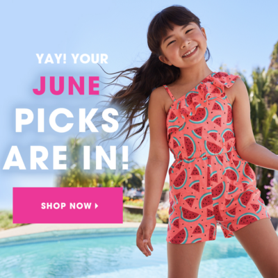 FabKids June 2019 Collection + Coupon!