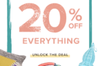GlobeIn Shop Coupon: Get 20% Everything in the Shop!
