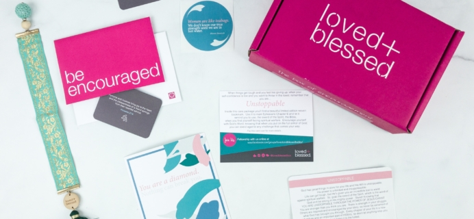 Loved+Blessed June 2019 Subscription Box Review + Coupon