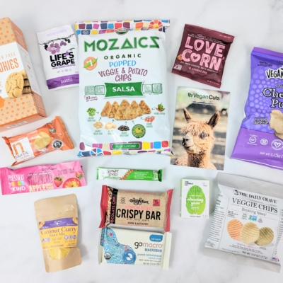 Vegan Cuts Snack Box May 2019 Subscription Box Review