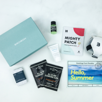 June 2019 Birchbox Grooming Subscription Box Review & Coupon