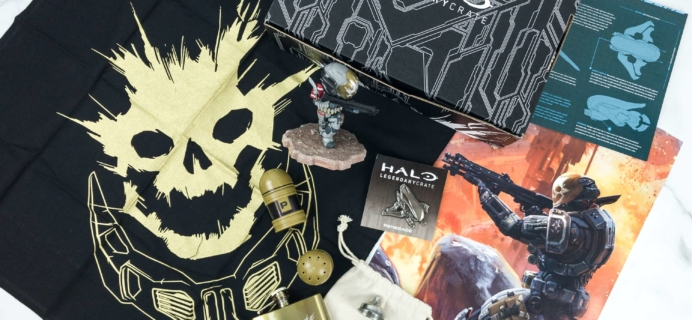 Halo Legendary Crate April 2019 Subscription Box Review + Coupon