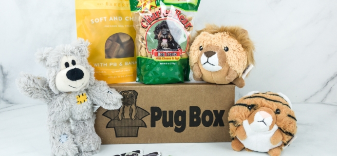 Pug Box May 2019 Subscription Box Review + Coupon!