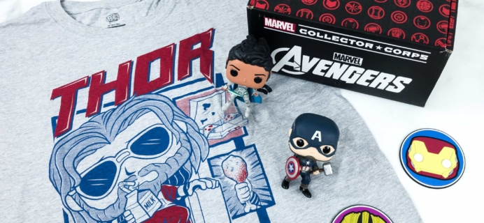 Marvel Collector Corps May 2019 Subscription Box Review – AVENGERS ENDGAME