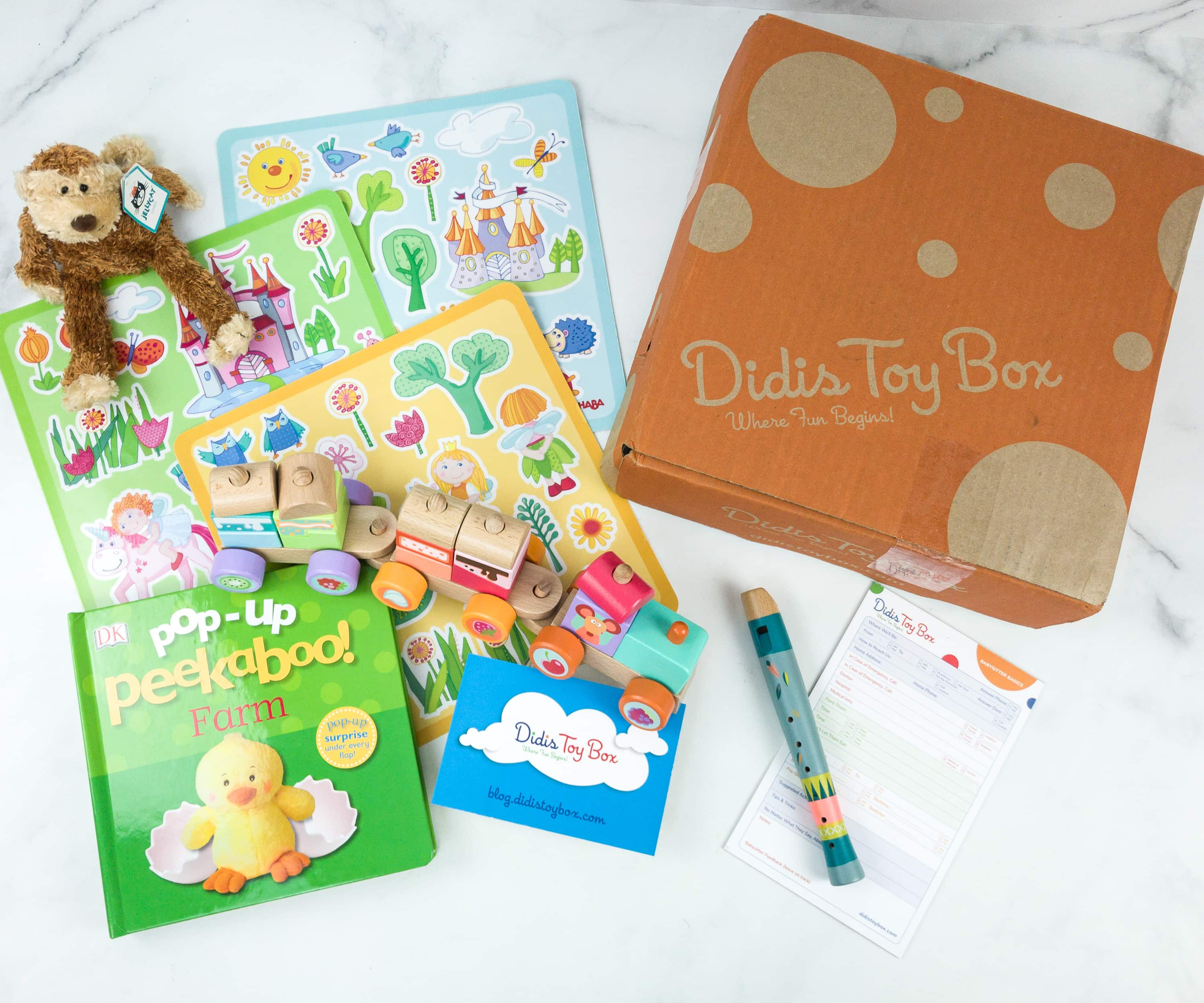 Didis Toy Box June 2019 Subscription Box Review & Coupon
