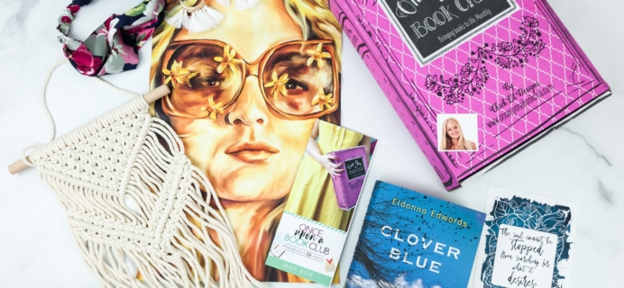 Once Upon a Book Club May 2019 Subscription Box Review + Coupon – Adult Box
