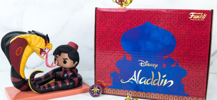 Disney Treasures May 2019 Box Review – ALADDIN