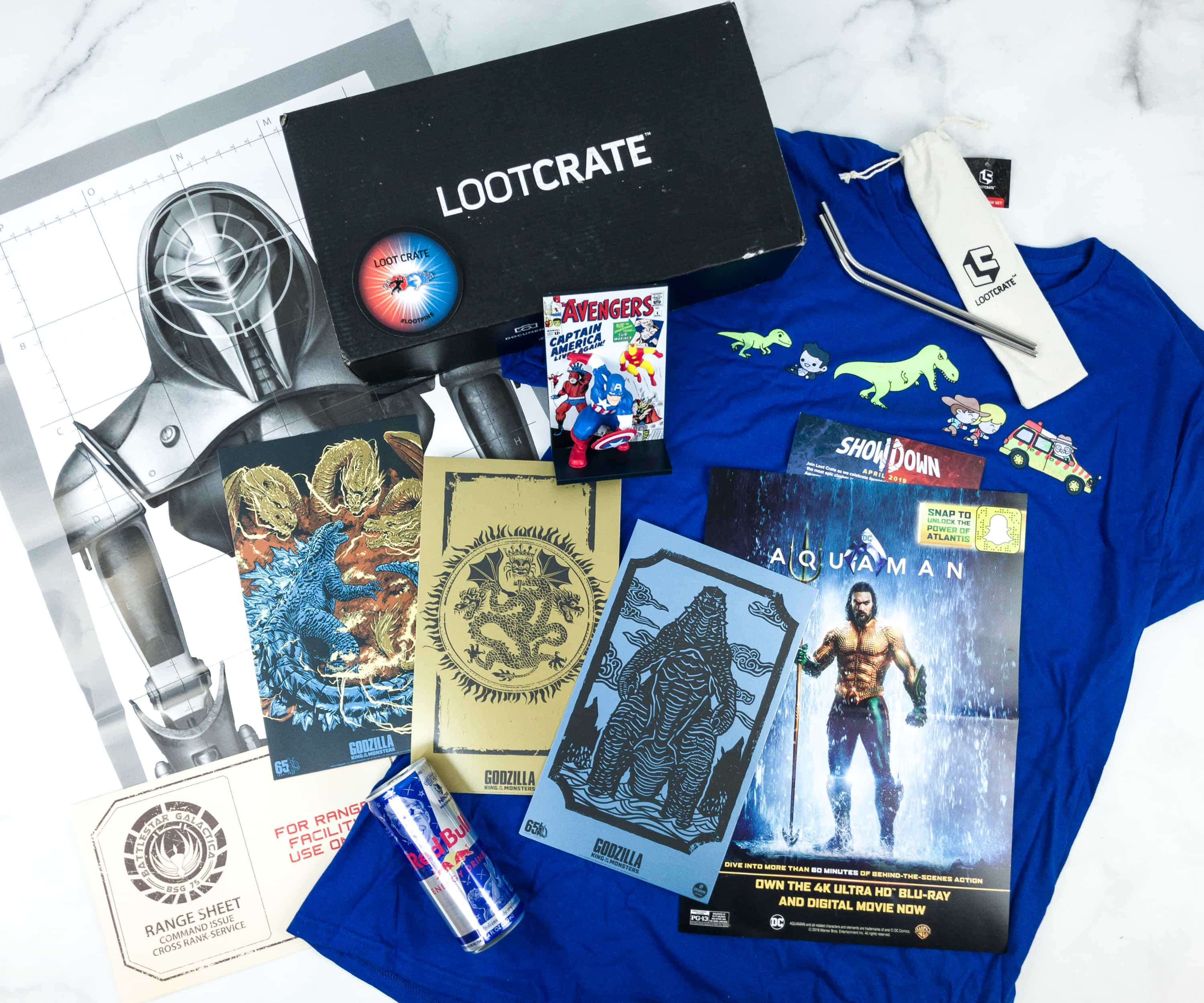 Loot Crate April 2019 Review + Coupons –  SHOWDOWN