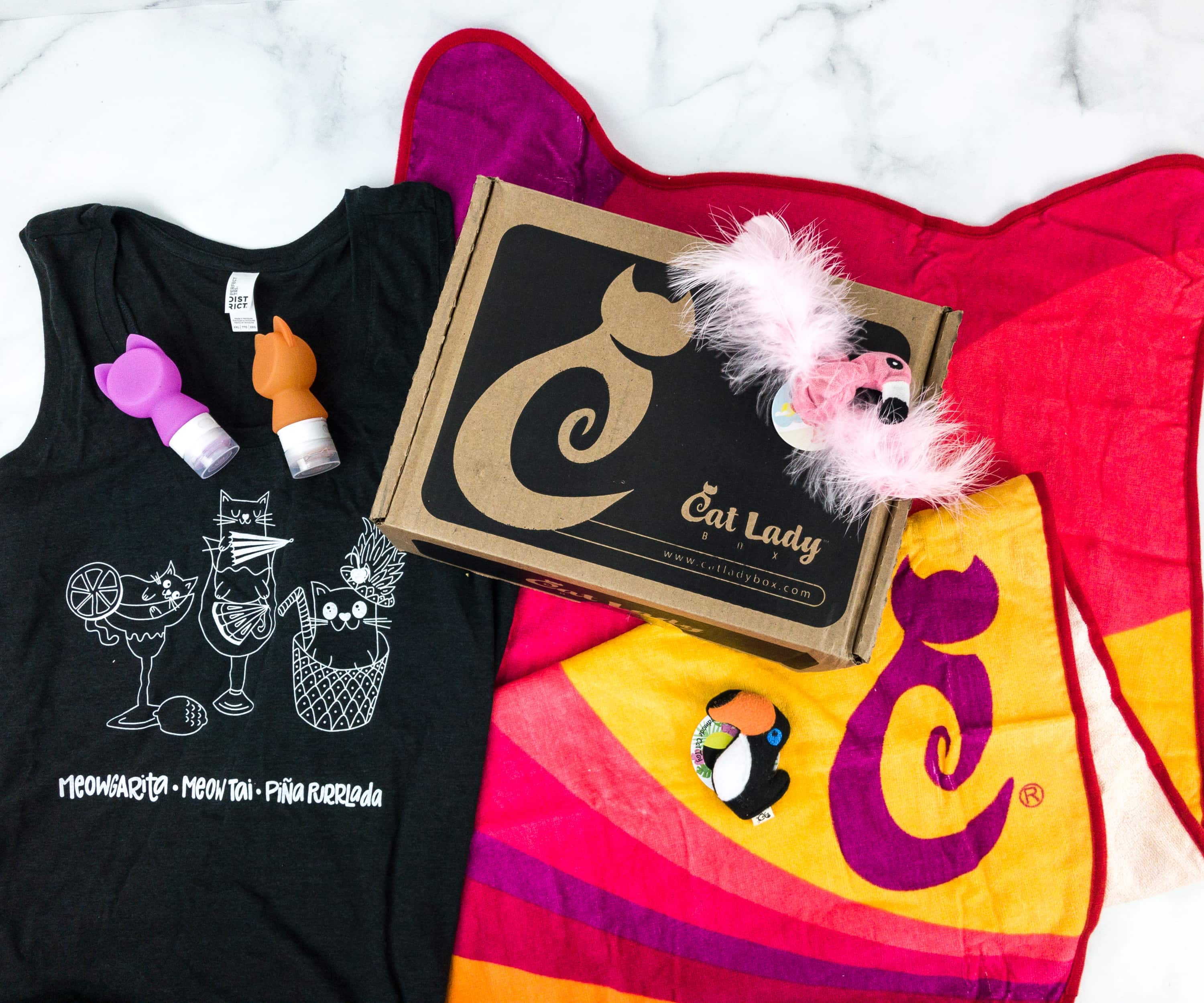 Cat Lady Box June 2019 Subscription Box Review + Coupon
