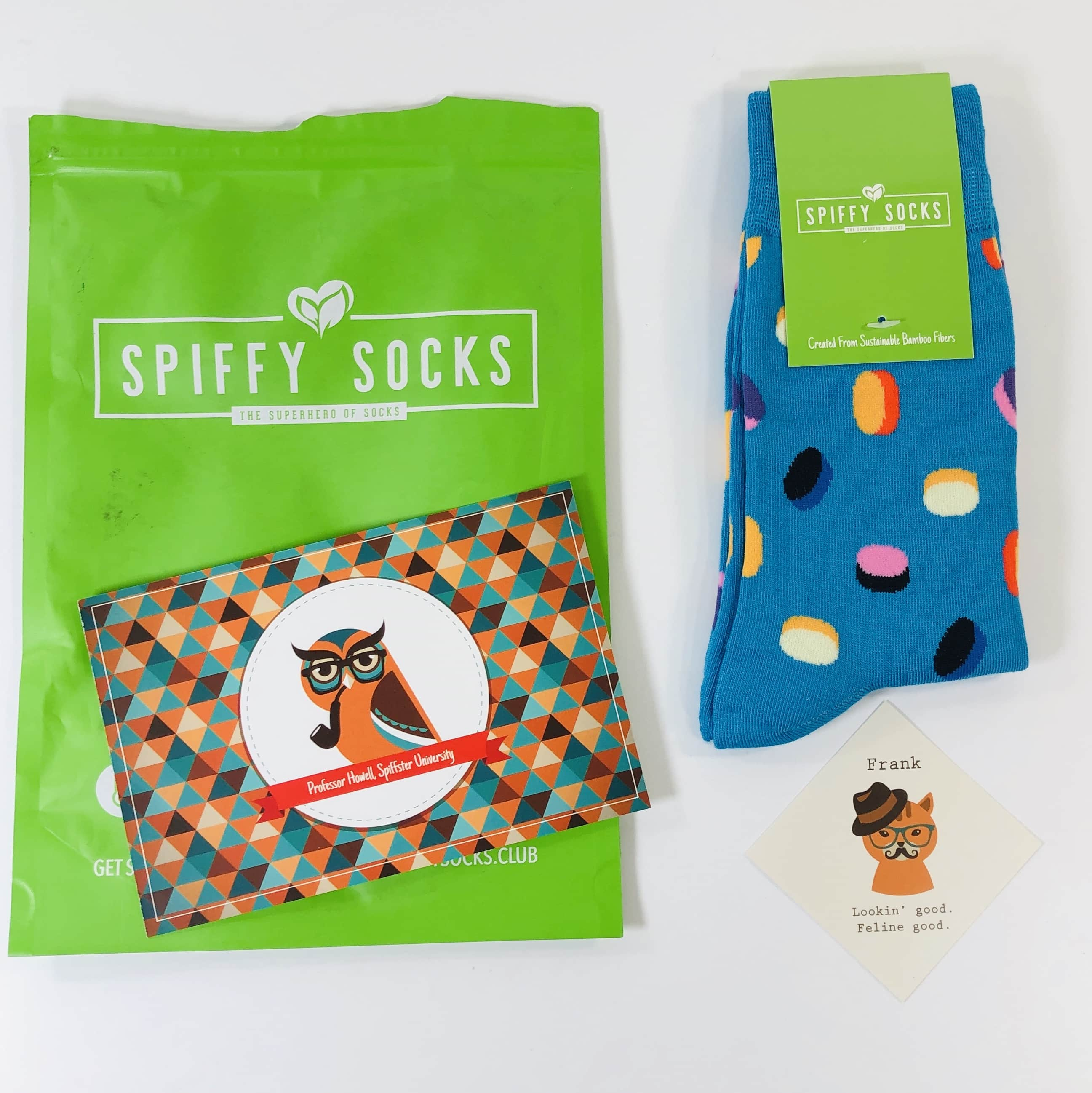 Spiffy Socks June 2019 Subscription Box Review  + Coupon