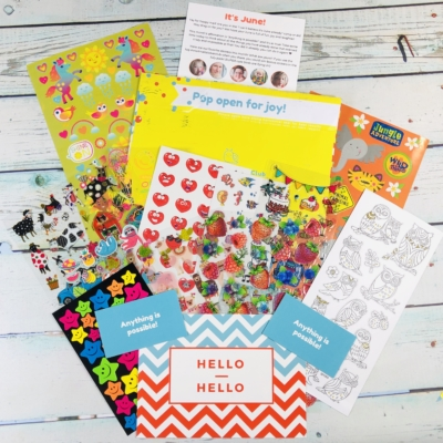 Snail Mail Sticker Club June 2019 Subscription Box Review + Coupon