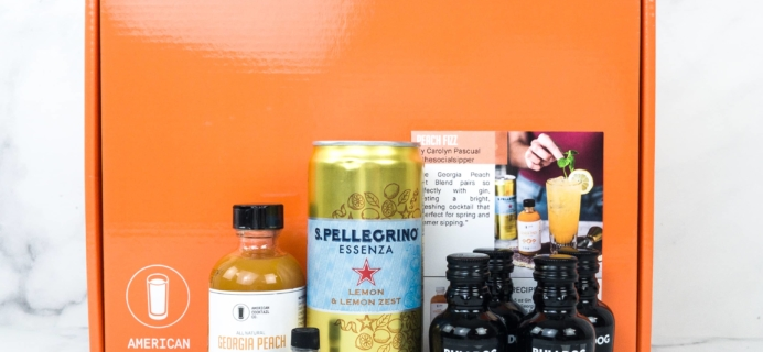 American Cocktail Club May 2019 Subscription Box Review + Coupon
