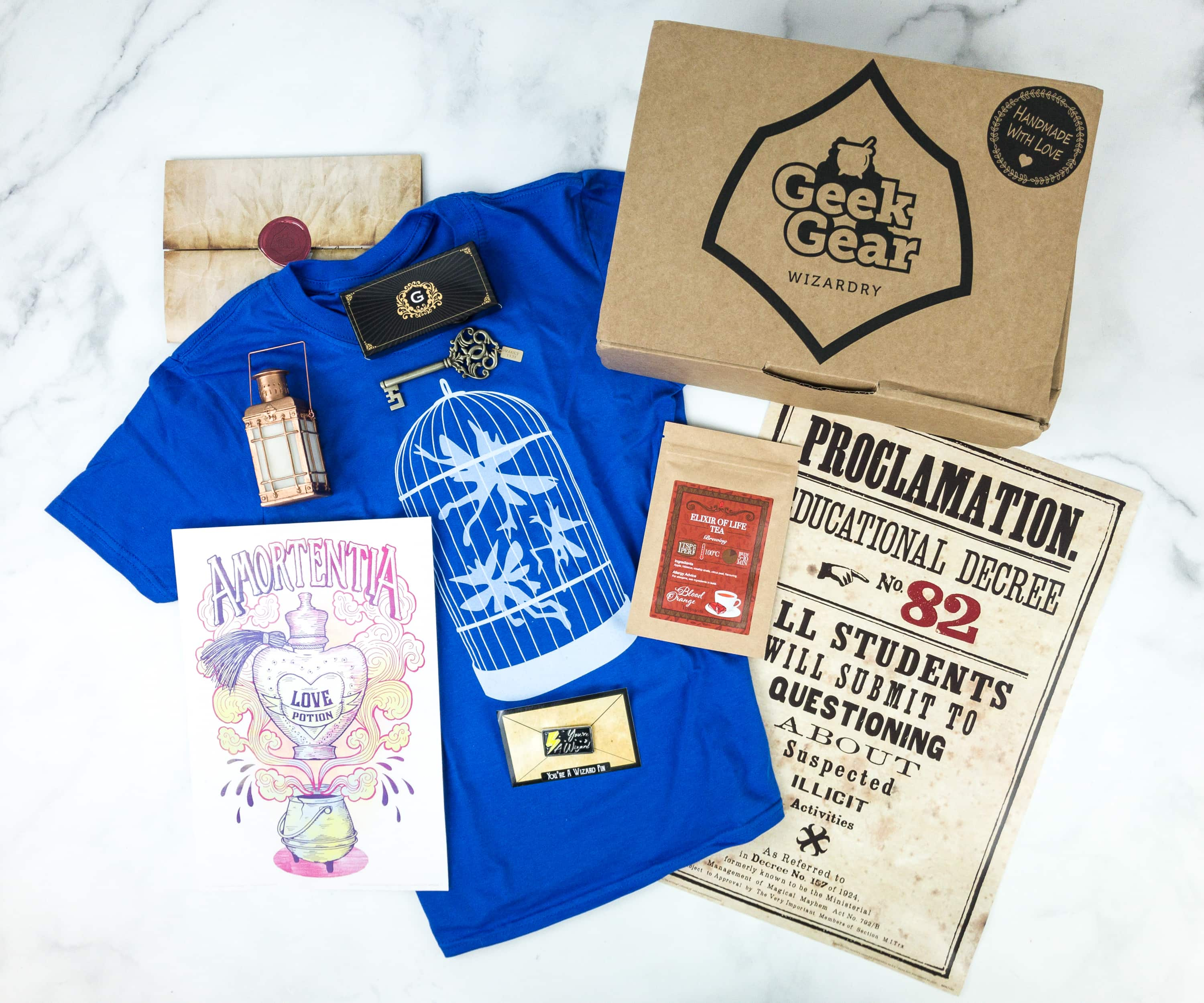 Geek Gear World of Wizardry May 2019 Subscription Box Review & Coupon