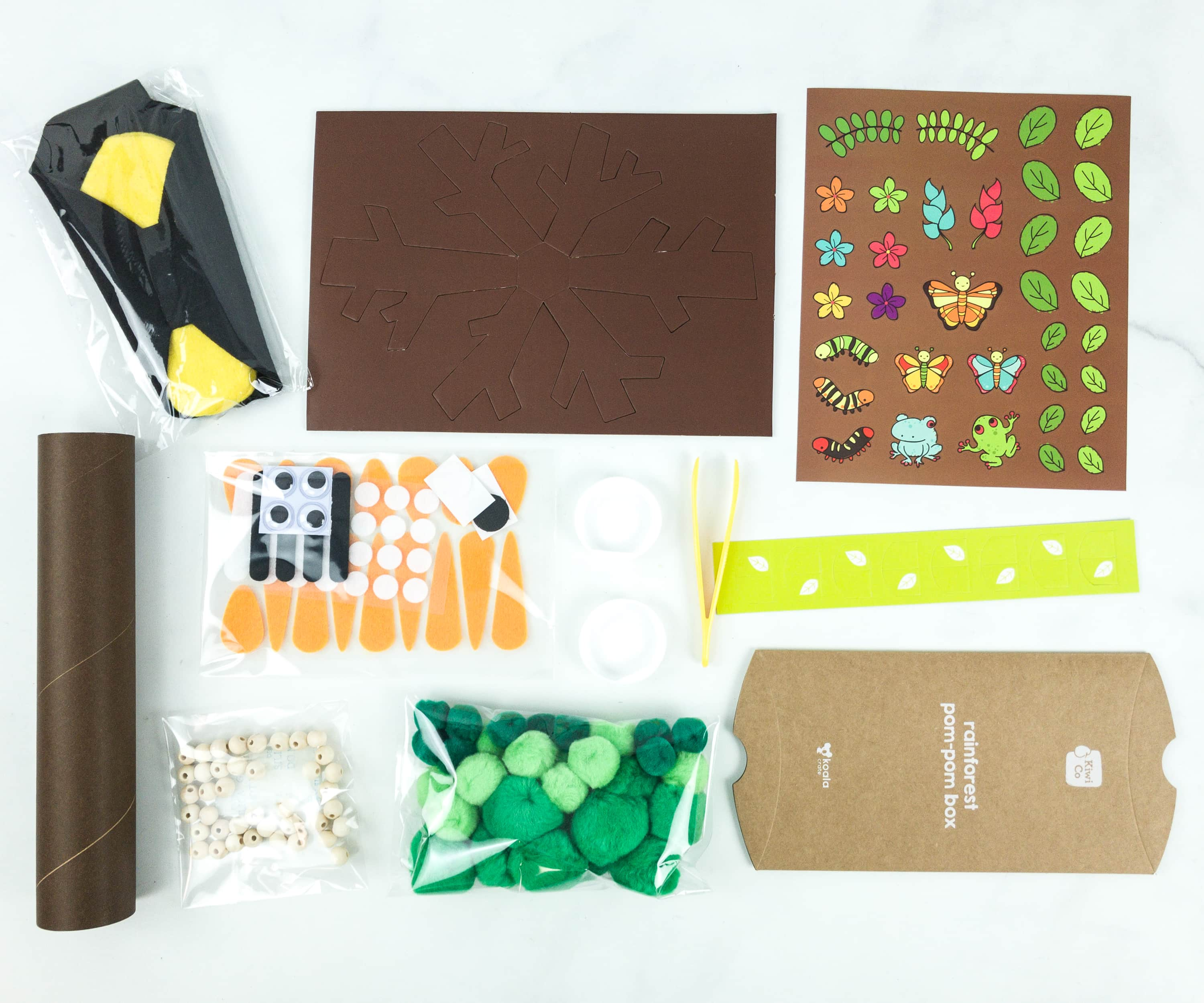 KiwiCo Koala Crate RAINFOREST Subscription Box Review & Coupon