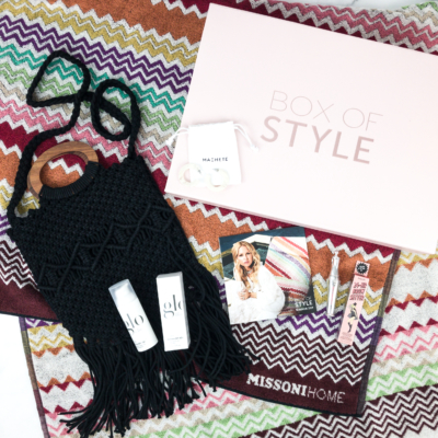 Box of Style by Rachel Zoe Summer 2019 Review + Coupon