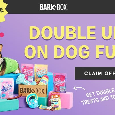BarkBox Coupon: Double Your First Box for FREE !