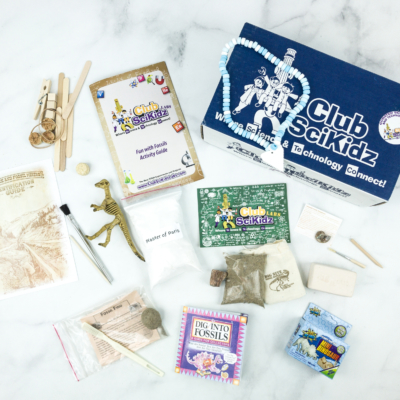 Club Scikidz Labs Subscription Box Review + Coupon – Fun With Fossils