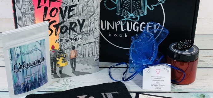 Unplugged Book Box Young Adult June 2019 Subscription Box Review + Coupon!