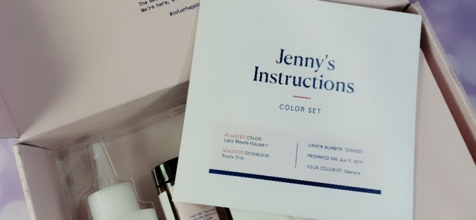 May 2019 eSalon Custom Hair Color Subscription Review + Coupon