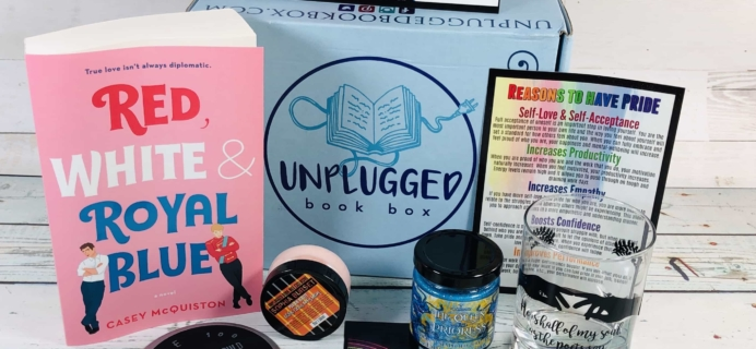 Unplugged Book Box June 2019 Adult Fiction Subscription Box Review + Coupon!