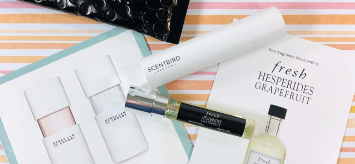 Scentbird June 2019 Fragrance Subscription Review & Coupon