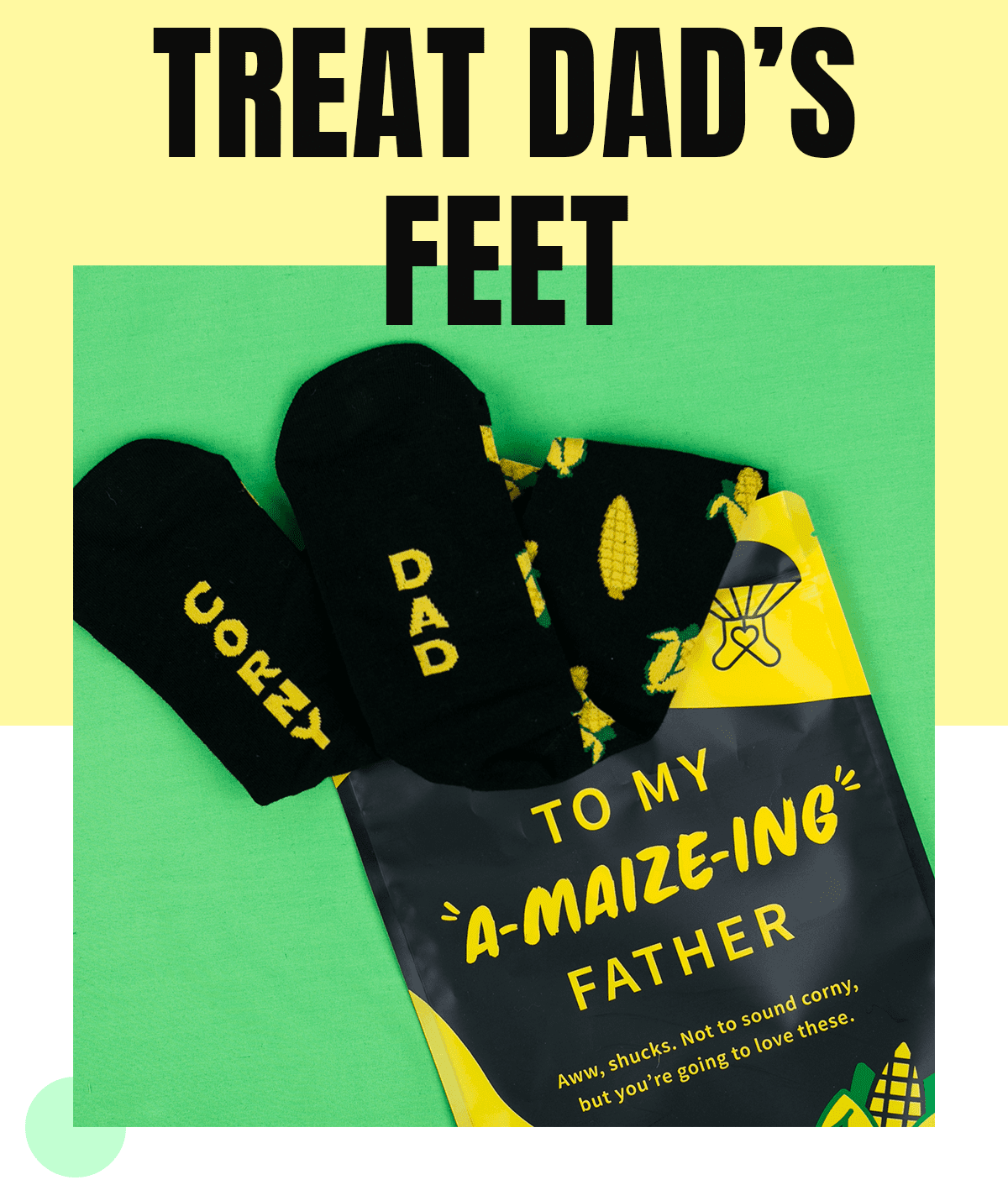 Say It With A Sock Father's Day Coupon: Get Free Socks For Dad!